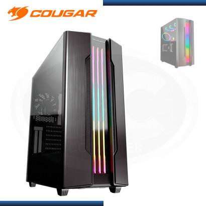 CASE COUGAR GEMINI S IRON-GRAY 2020 ARGB SIN FUENTE VIDRIO TEMPLADO USB 3.0/USB 2.0 (PN:385BMBP.0001)