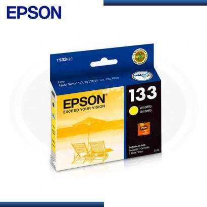 TINTA EPSON STYLUS 133 YELLOW