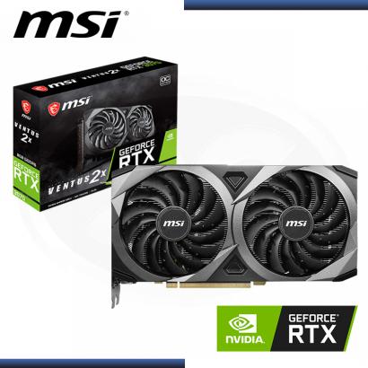 MSI GEFORCE RTX 3070 8GB GDDR6 256BITS VENTUS 2X OC (PN:912-V390-008)