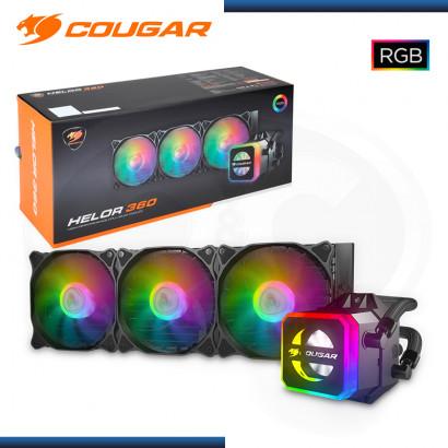 COUGAR HELOR 360 + COREBOX RGB REFRIGERACION LIQUIDO INTEL /AMD (PN:RL-HLR360-V1)