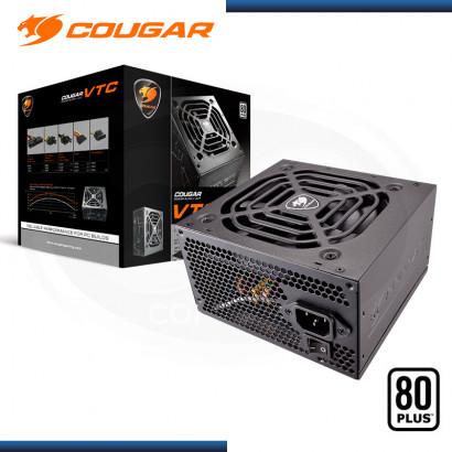 FUENTE COUGAR VTC600 600W 80PLUS WHITE (PN:31VC060006P01)