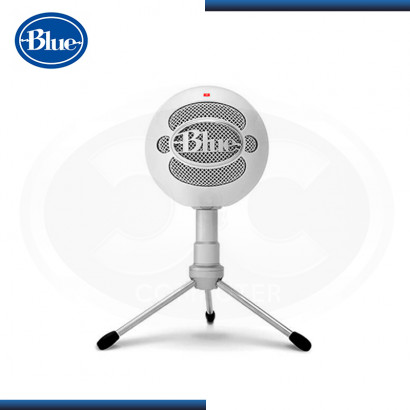 MICROFONO BLUE SNOWBALL ICE WHITE USB (PN:988-000070)
