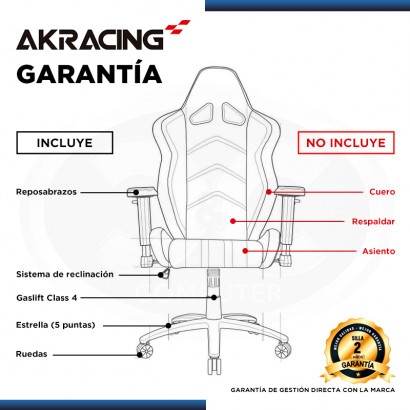 SILLA AKRACING OVERTURE BLANCO GAMING (PN:AK-OVERTURE-WT)
