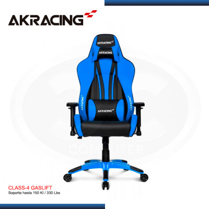 SILLA AKRACING PREMIUM PLUS BLUE BLACK GAMING (PN:AK-7002-BL)