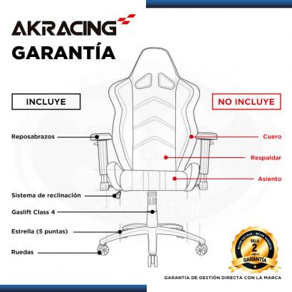 SILLA AKRACING PREMIUM STYLE V2 GAMING (PN:AKK-0909-1)