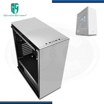 CASE GAMER STORM MACUBE 310 WH SIN FUENTE VIDRIO TEMPLADO USB 3.0 (PN:GS-ATX-MACUBE310-WHG0P)