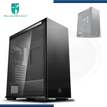 CASE GAMER STORM MACUBE 310 BK SIN FUENTE VIDRIO TEMPLADO USB 3.0 (PN:GS-ATX-MACUBE310-BKG0P)