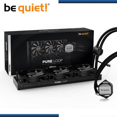 BEQUIET! PURE LOOP 360MM REFRIGERACION LIQUIDO AMD/INTEL (PN:BW008)