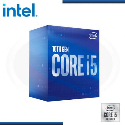 PROCESADOR INTEL CORE I5 10400F 2.90 GHZ/12MB LGA1200 (PN:BX8070110400F)