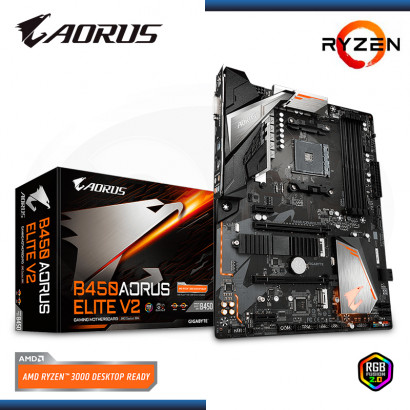 MB AORUS B450 ELITE V2 AMD RYZEN DDR4