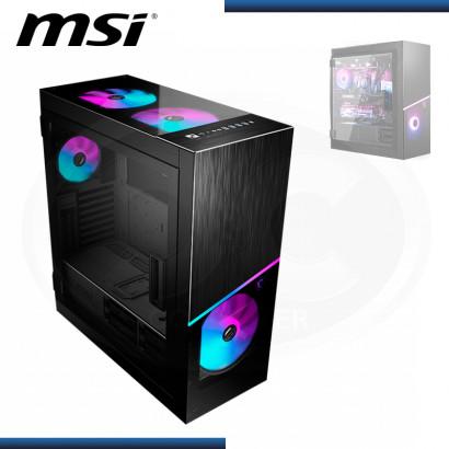 CASE MSI MPG SEKIRA 500X BLACK SIN FUENTE VIDRIO TEMPLADO FAN ARGB USB 3.2 (PN:MSI SEKIRA 500X)