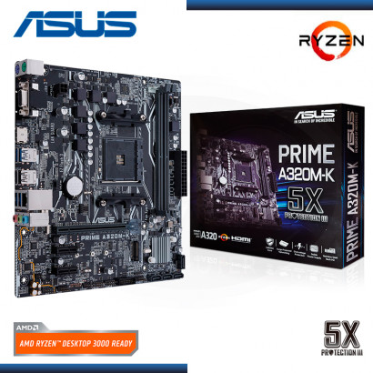 MB ASUS A320M-K PRIME AMD RYZEN DDR4 AM4 (PN:90MB0TV0-M0AEY0)