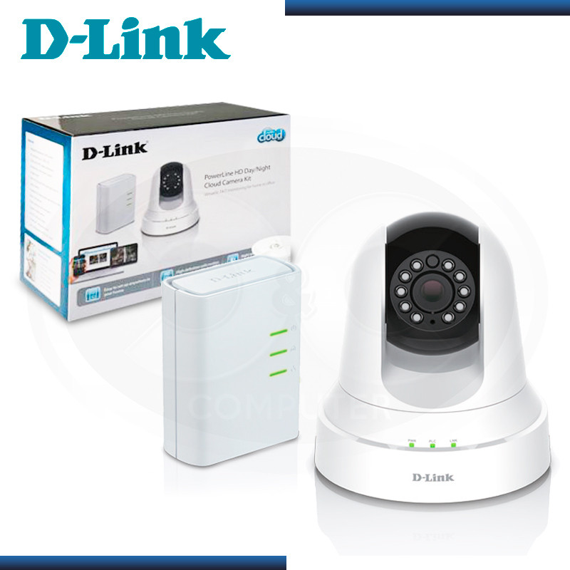 KIT VIGILANCIA D-LINK DCS-6045LKT CAMARA IP POWER LINE HD + DOMO