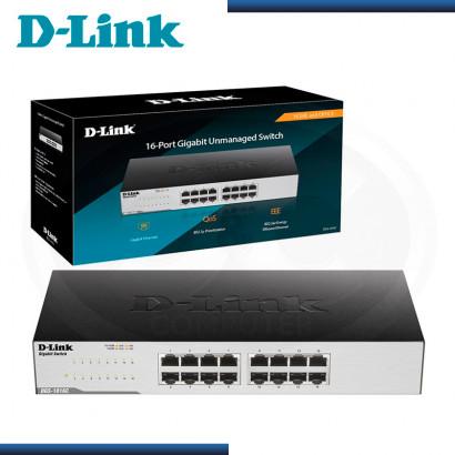 SWITCH D-LINK DGS-1016C 16 PUERTOS 10/100/1000 MBPS RACKEABLE