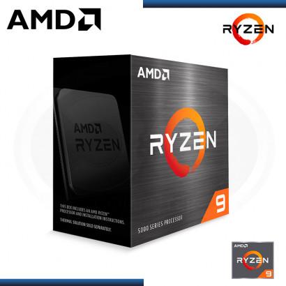 PROCESADOR AMD RYZEN 9 5950X  3.4GHZ 72MB 16CORE AM4 (PN:100-100000059WOF)
