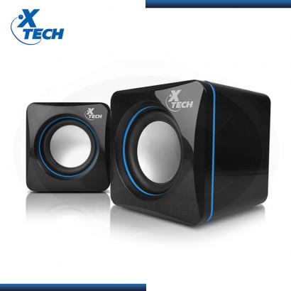 PARLANTE XTECH XTS110 STEREO  BLACK BLUE USB (PN:MPN XTS-110)