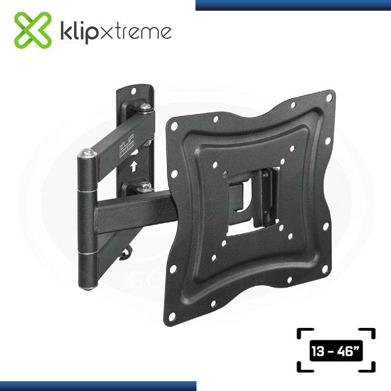"""KLIP XTREME KPM-875 RACK PARA TV & MONITOR TAMAÑO 13-46"""""""