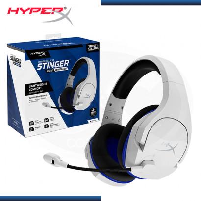 AUDIFONO HYPERX CLOUD STINGER CORE WHITE CON MICROFONO WIRELESS USB (PN:HHSS1C-KB-WT/G)