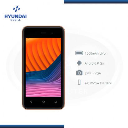 SMARTPHONE HYUNDAI MOBILE E475 GOLD 4.0 WVGA DUAL SIM DESBLOQUEADO