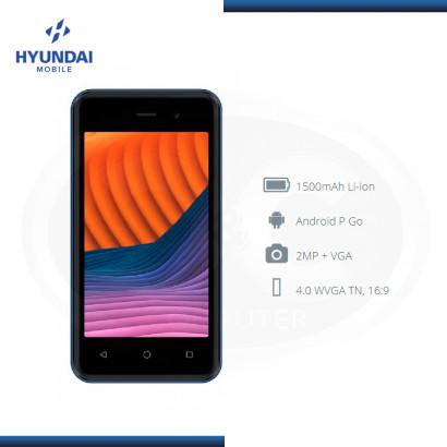 SMARTPHONE HYUNDAI MOBILE E475 BLUE 4.0 WVGA DUAL SIM DESBLOQUEADO