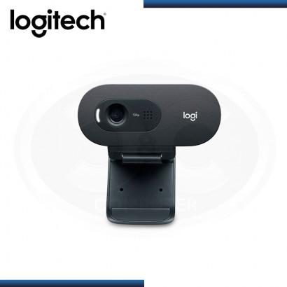 WEBCAM LOGITECH C505E HD 720P BLACK USB (PN:960-001372)