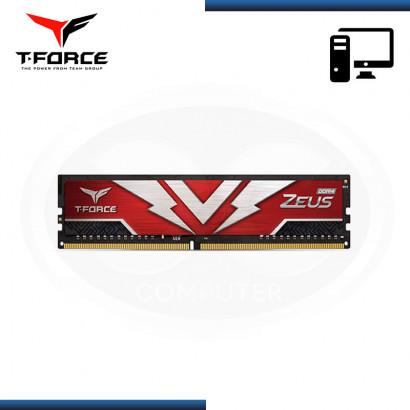 MEMORIA 8GB DDR4 T-FORCE ZEUS BUS 3000MHZ (PN:TTZD48G3000HC16CBK)