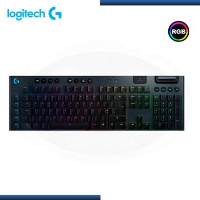 TECLADO LOGITECH G915 RGB LIGHTSPEED MECANICO INALÁMBRICO (PN:920-008902)