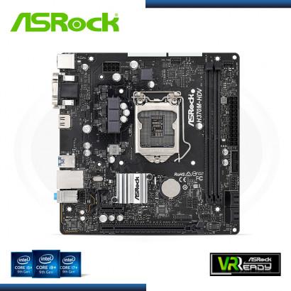 MB ASROCK H370M-HDV DDR4 LGA LGA1151 (PN:90-MXBF40-A0UAYZ)