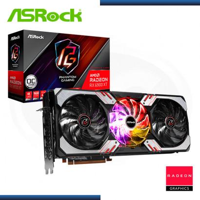 ASROCK RADEON RX6900 XT 16GB GDDR6 256BITS PHANTOM GAMING OC EDITION (PN:90-GA2DZZ-00UANF)