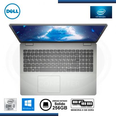 "LAPTOP DELL INSPIRON 3501 CI3-1005G1 15.6"" 8GB/SSD 256 GB/W10 HOME"