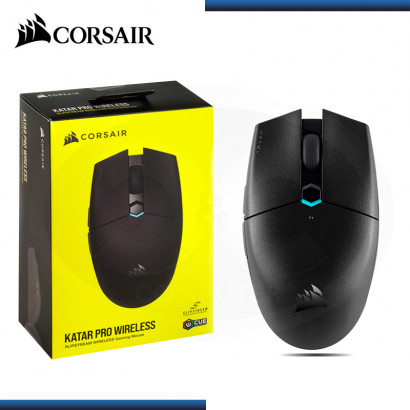 MOUSE CORSAIR KATAR PRO WIRELESS BLACK (PN:CH-931C011-NA)