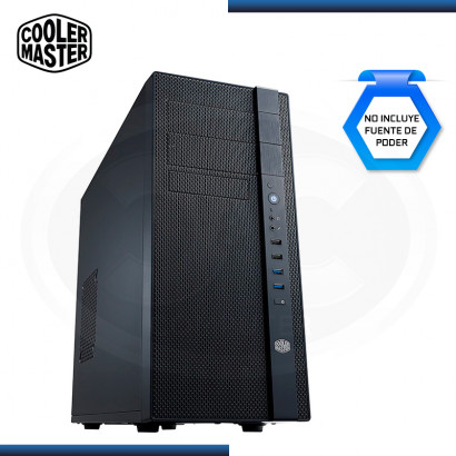 CASE COOLER MASTER N400 SIN FUENTE BLACK USB 3.0/USB 2.0 (PN:NSE-400-KKN2)
