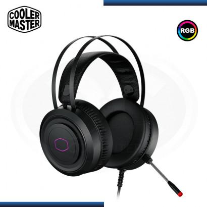 AUDIFONO COOLER MASTER CH321 RGB CON MICROFONO BLACK USB (PN:CH321)