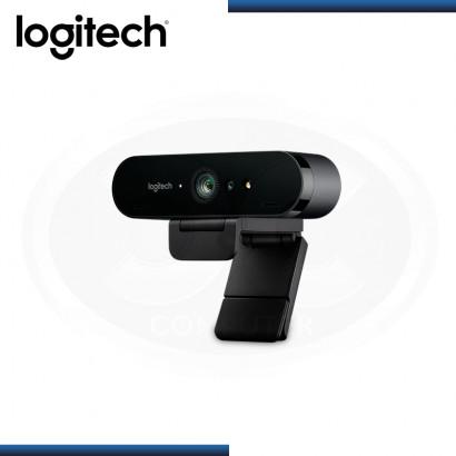 WEBCAM LOGITECH B2B BRIO ULTRA HD 4K BLACK (PN:960-001105)