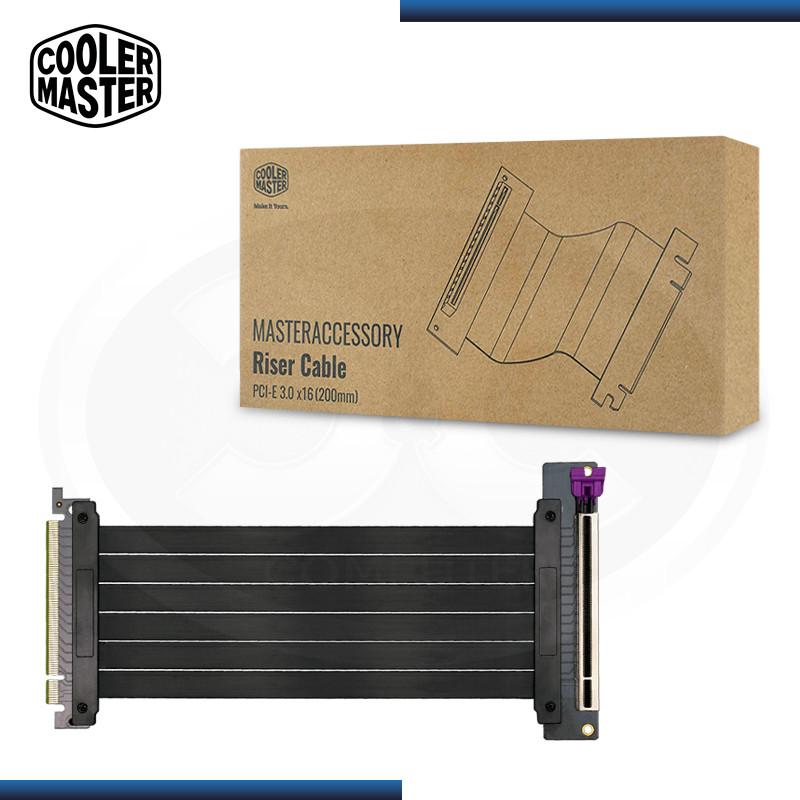 CABLE RISER COOLER MASTER PCIE 3.0x16 VER. 2.0 (PN:MCA-U000C-KPCI30-200)