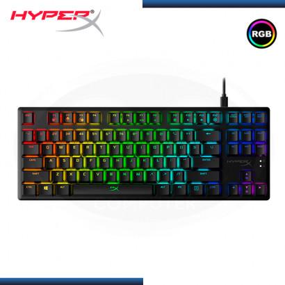 TECLADO HYPERX ALLOY ORIGINS CORE RGB MECANICO BLACK INGLES (PN:HX-KB7AQX-US)