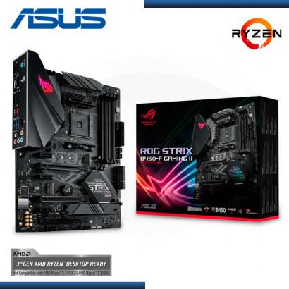 MB ASUS ROG STRIX B450-F GAMING II AMD RYZEN DDR4 AM4 (PN:90MB15V0-M0AAY0)