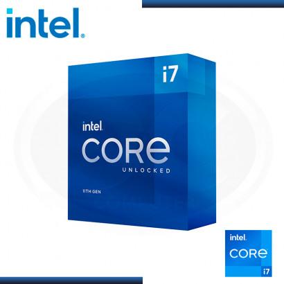 PROCESADOR INTEL CORE I7-11700KF 3.60GHz/16MB LGA1200 (PN:BX8070811700KF)