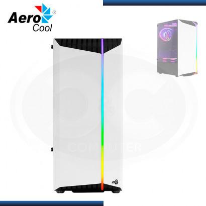 CASE AEROCOOL BIONIC-G-WT-V2 SIN FUENTE VIDRIO TEMPLADO WHITE USB 3.0/USB 2.0 (PN:4710562758740)