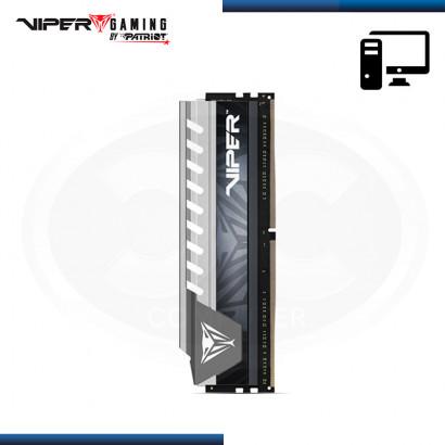 MEMORIA 16GB DDR4 VIPER GAMING ELITE GRIS CON DISIPADOR BUS 2666Mhz (PN:PVE416G266C6GY)