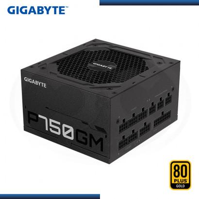 FUENTE GIGABYTE P750GM 750W 80 PLUS GOLD MODULAR (PN:GP-P750GM)