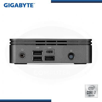MINI PC GIGABYTE BRIX INTEL CORE I7-10710U M.2/DDR4/USB 3.2/HDMI (PN:GB-BRi7-10710)
