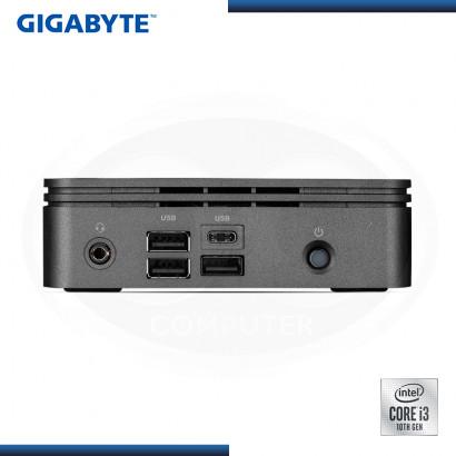 MINI PC GIGABYTE BRIX INTEL CORE I3-10110U M.2/DDR4/USB 3.2/HDMI (PN:GB-BRi3-10110)