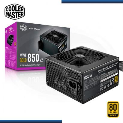 FUENTE COOLER MASTER MWE 850W V2 80 PLUS GOLD (PN:MPE-8501-ACAAG-U2)
