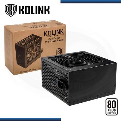 FUENTE KOLINK CORE 500W 80 PLUS WHITE (PN:PGW-PS-KOL-008)