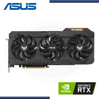 ASUS GEFORCE RTX 3080 10GB GDDR6X 320BITS TUF GAMING OC (PN:90YV0FB1-M0AA00)