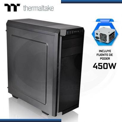 CASE THERMALTAKE V100 MID TOWER + FUENTE 450W USB 3.0/USB 2.0 (PN:CA-3K7-45M1NU-00)