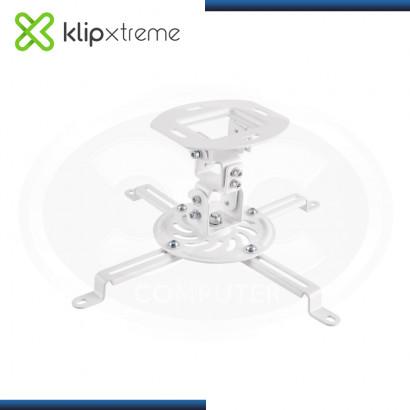 KLIP XTREME KPM-400W WHITE SOPORTE UNIVERSAL PARA PROYECTOR DE TECHO