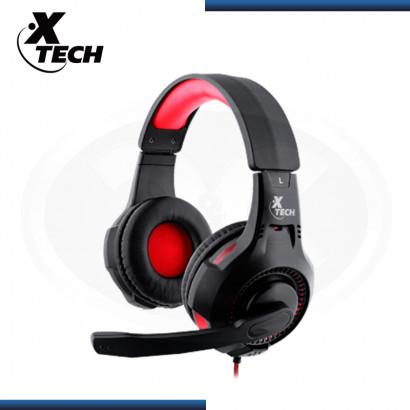 AUDIFONO XTECH XTH-541 IXION BLACK CON MICROFONO STEREO (PN:XTH-541)