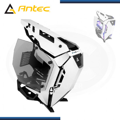CASE ANTEC TORQUE BLACK WHITE SIN FUENTE VIDRIO TEMPLADO USB3.1/USB 3.0 (PN:0-761345-80026-6)